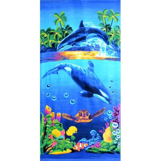 Пляжное полотенце 70х140 Китай 1470