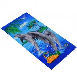 Пляжное полотенце 70х140 Китай 1447