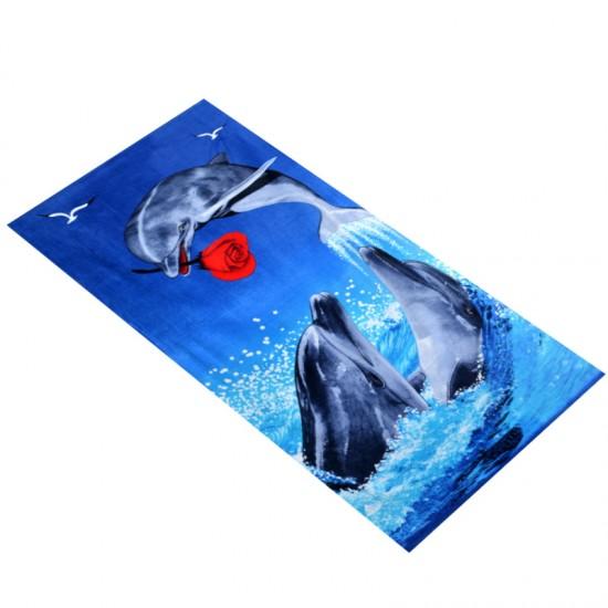 Пляжное полотенце 70х140 Китай 1772