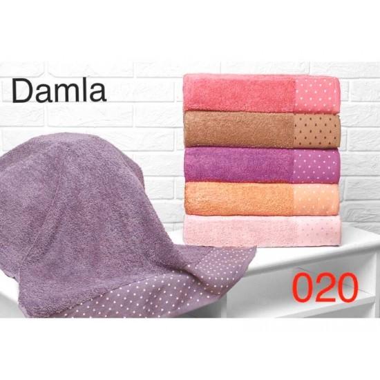 Полотенце лицевое махровое 50х90 Турция 020-7
