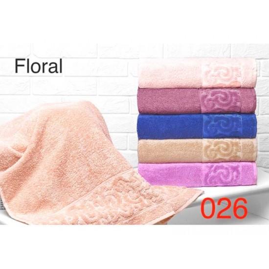 Полотенце лицевое махровое 50х90 Турция 026-7